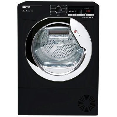 Hoover DXO H9A2TCEB 9KG Heat Pump Tumble Dryer - Black