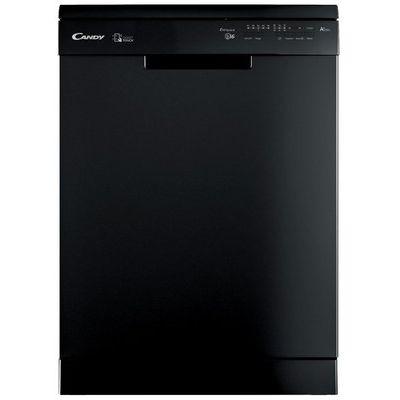 Candy CF 6F52LNB Full Size Dishwasher - Black