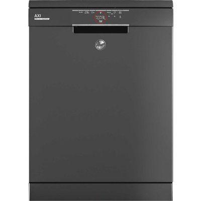 Hoover H-DISH 500 HF6E3DFA Wifi Connected Standard Dishwasher - Graphite