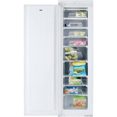 Candy CFFO3550EK/N Integrated Upright Freezer - White