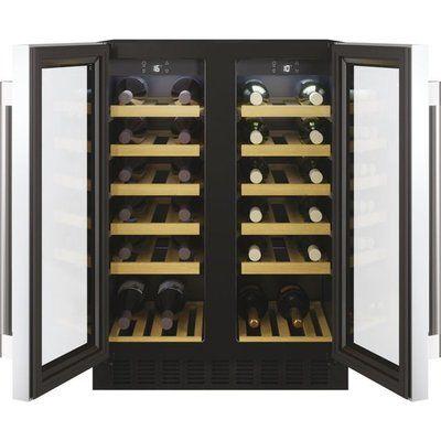 Hoover HWCB60DUK/N Built In Wine Cooler - Black