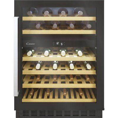 Candy CCVB60DUK/N Built In Wine Cooler - Black
