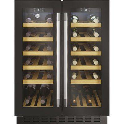 Hoover HWCB60DDUKBM/N Built In Wine Cooler - Black