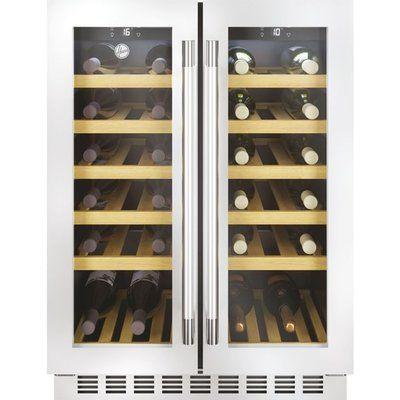Hoover HWCB60DDUKSSM/N Built In Wine Cooler - Stainless Steel