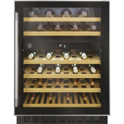 Hoover H-WINE 700 HWCB60UK/N Built In Wine Cooler - Black