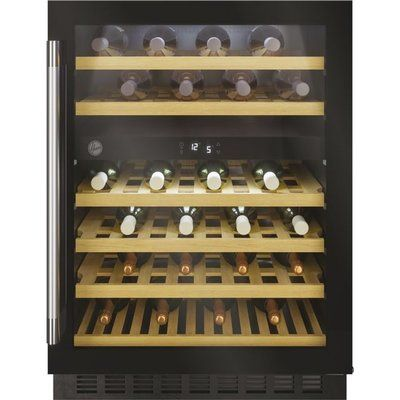 Hoover HWCB60DUKBM/N Built In Wine Cooler - Black