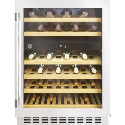 Hoover HWCB60DUKSSM/N Built In Wine Cooler - Stainless Steel