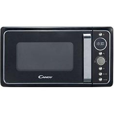 Candy Divo Free Standing Microwave Oven in Matte Black