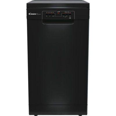 Candy CDPH2L1049B Slimline Dishwasher - Black
