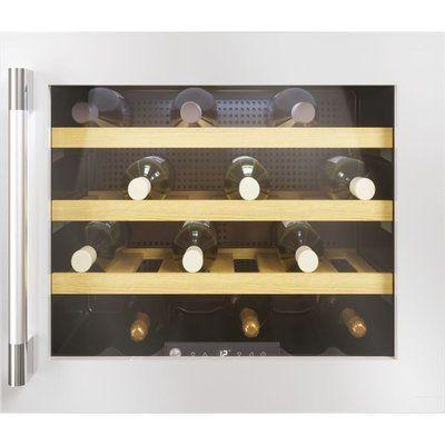Hoover HWCB45UKSSM/1 Built In Wine Cooler - Stainless Steel