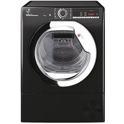 Hoover H-Dry 500 HLE H9A2TCEB 9KG Heat Pump Tumble Dryer - Black