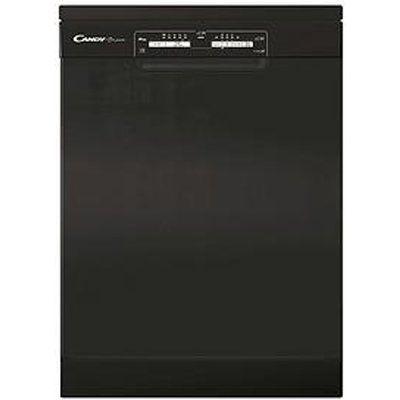Candy CDPN 1L390PB13 Place Setting Full Size Dishwasher - Black
