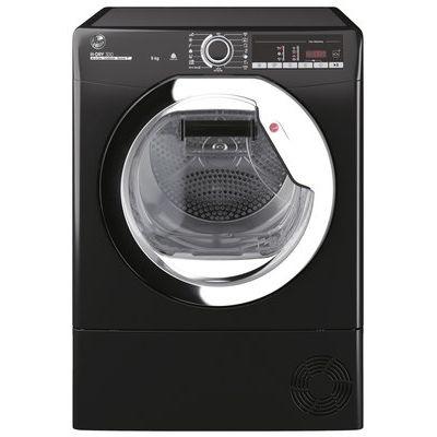 Hoover HLE C9TCEB-80 9KG Condenser Tumble Dryer - Black