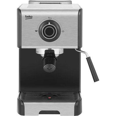 Beko CEP5152B Manual Espresso Coffee Machine - Stainless Steel
