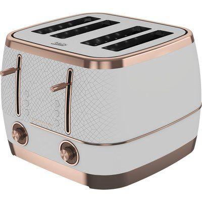 Beko Cosmopolis TAM8402W 4-Slice Toaster - White