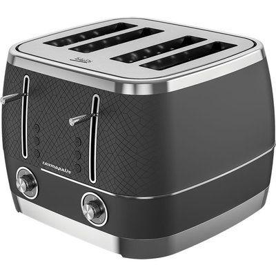 Beko Cosmopolis TAM8402B 4-Slice Toaster - Black