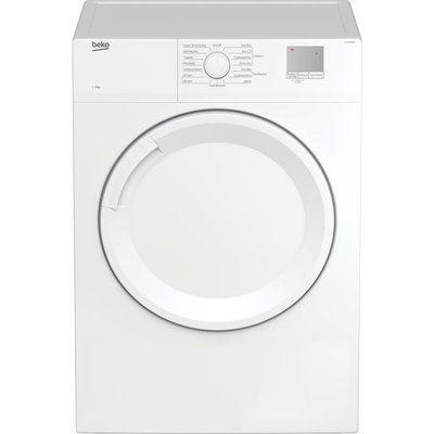 Beko DTGV8000W 8 kg Vented Tumble Dryer - White