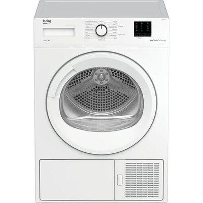 Beko Pro DTBP8011W 8 kg Heat Pump Tumble Dryer - White