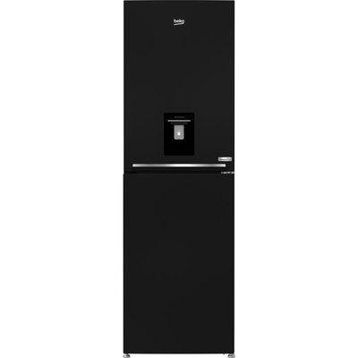 Beko HarvestFresh CFG3691DVB 50/50 Fridge Freezer - Black