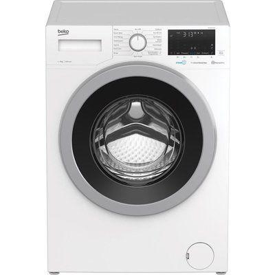 Beko WEX840530W Bluetooth 8 kg 1400 Spin Washing Machine - White