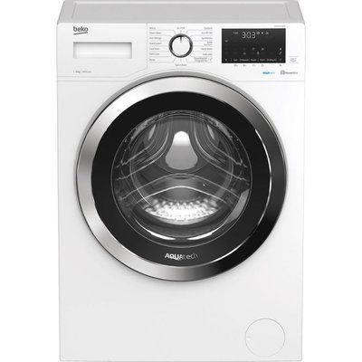 Beko WEX84064E0W Bluetooth 8 kg 1400 Spin Washing Machine - White