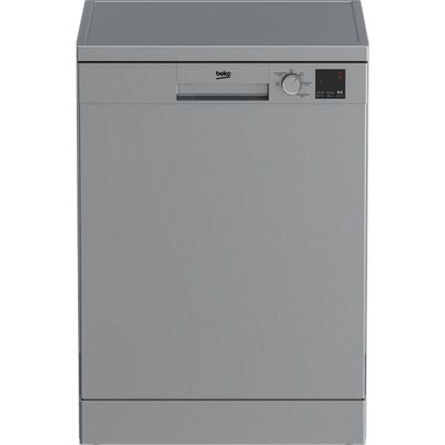 Beko DVN05R20S Standard Dishwasher - Silver