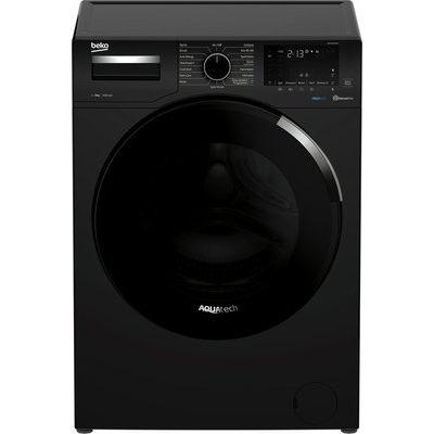 Beko AquaTech WEY94P64EB 9KG Washing Machine - Black