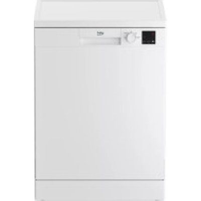 Beko DVN04320W 13 Place Setting Freestanding Dishwasher