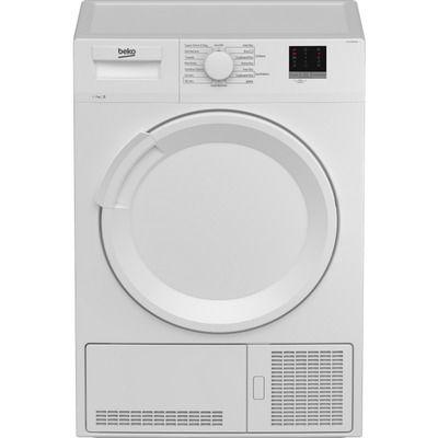 Beko DTLCE70051W 7Kg Condenser Tumble Dryer - White
