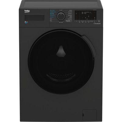 Beko WDK742421A Bluetooth 7 kg Washer Dryer - Black
