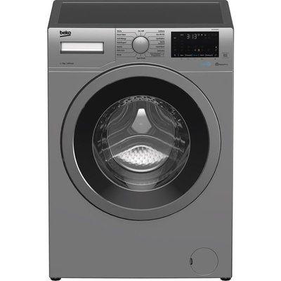 Beko WEX740430S Bluetooth 7 kg 1400 Spin Washing Machine - Silver