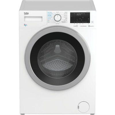 Beko WDEX8540430W Bluetooth 8 kg Washer Dryer - White