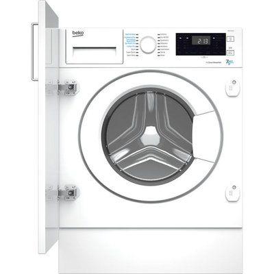 Beko WDIK754121 Integrated 7Kg / 5Kg Washer Dryer - White