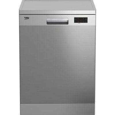 Beko DFN16X21X Full-size Dishwasher - Stainless Steel