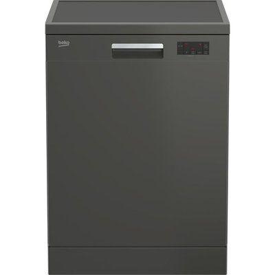 Beko DFN16430G Standard Dishwasher - Graphite