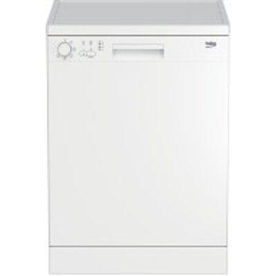 Beko DFN05320W Full-Size 60cm 13 Setting Dishwasher - White