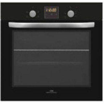 New World 60cm Black Built In Single Oven