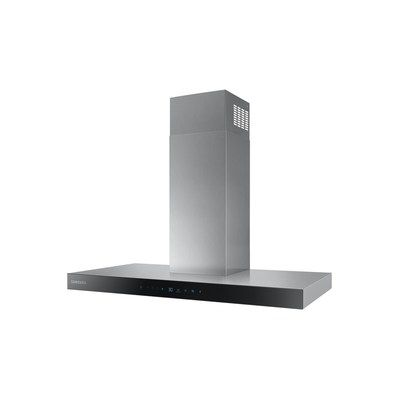 Samsung NK36N5703BS 90cm Auto Connectivity Box Design Touch Control Cooker Hood - Stainless Steel