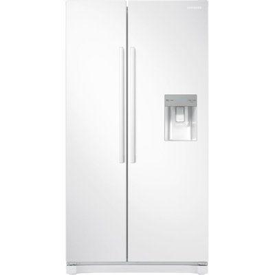 Samsung American-Style Fridge Freezer White RS52N3313WW