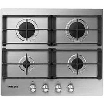 Samsung NA64H3010AS 60cm Four Burner Gas Hob Stainless Steel