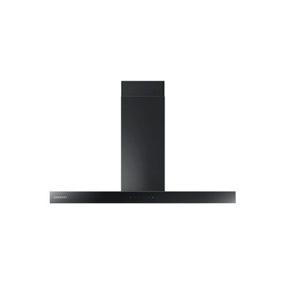 Samsung NK36M5070BM 90cm Chimney Hood - Matt Black Steel With Black Glass