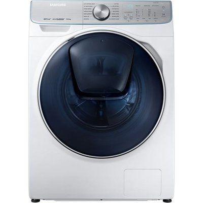 Samsung QuickDrive AddWash WW10M86DQOA Smart 10 kg 1600 Spin Washing Machine - White