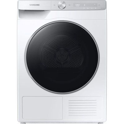 Samsung DV90T8240SH/S1 WiFi-enabled 9 kg Heat Pump Tumble Dryer - White