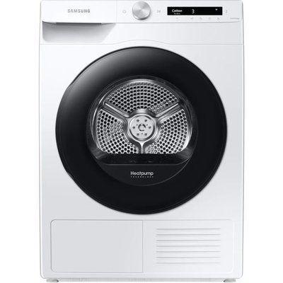 Samsung DV90T5240AW/S1 WiFi-enabled 9 kg Heat Pump Tumble Dryer - White