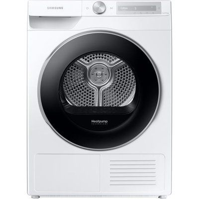 Samsung DV90T6240LH/S1 WiFi-enabled 9 kg Heat Pump Tumble Dryer - White