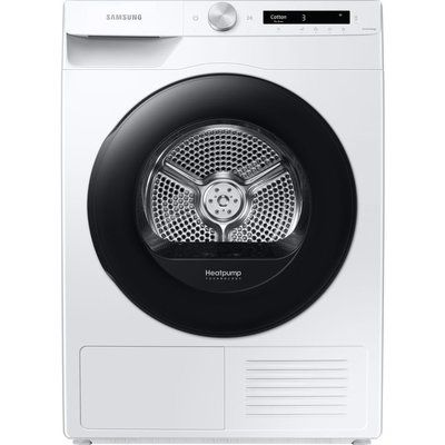 Samsung DV80T5220AW/S1 WiFi-enabled 8 kg Heat Pump Tumble Dryer - White