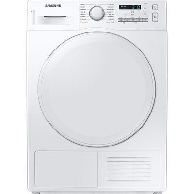 Samsung DV5000T DV80TA020DW 8Kg Heat Pump Tumble Dryer - White