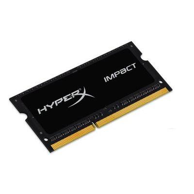 HyperX 4GB 1600MHz DDR3L CL9 SODIMM 1.35V HyperX Impact Black Series