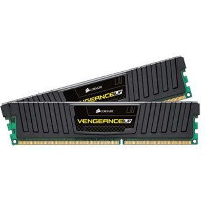 Corsair Memory Vengeance Low Profile Jet Black 16GB DDR3 1600 MHz CAS