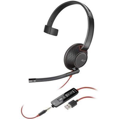 Plantronics Blackwire 5210 Mono Headset USB A Connection